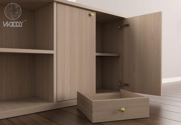 Sportelli in legno, ante e cassetti su misura