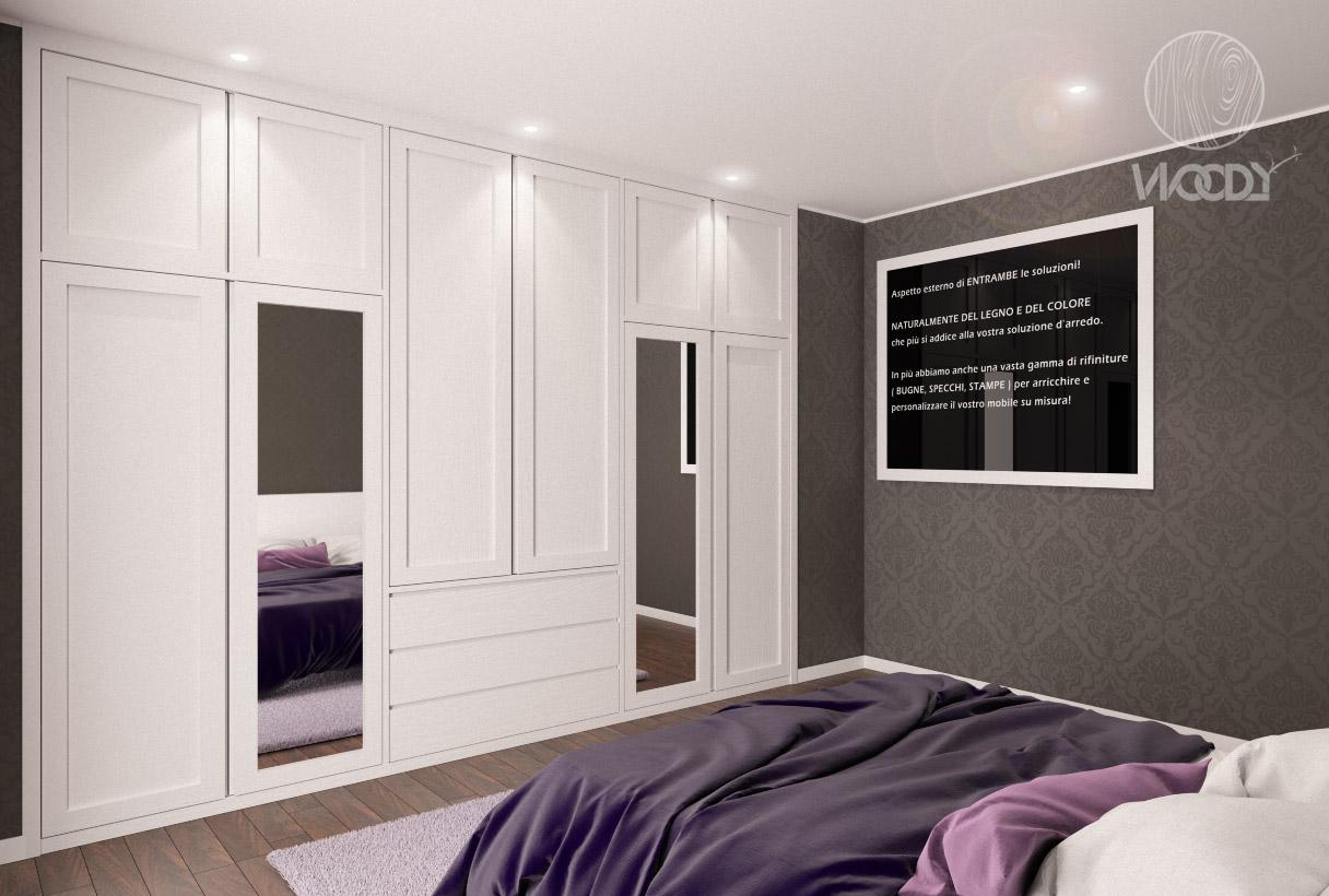 Armadio A Muro Design scopri le nostre soluzioni: armadi su misura di tutti i tipi