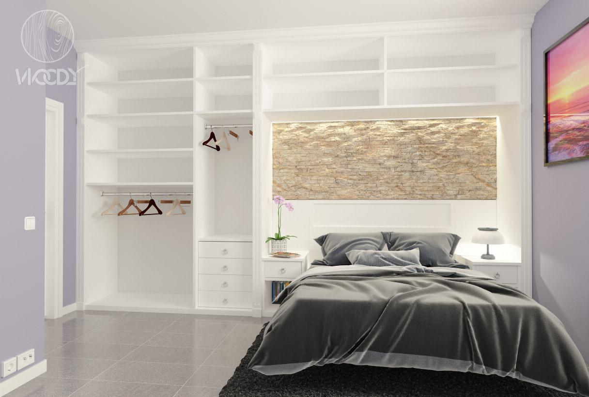 Camere da letto su misura woody design - Camere letto design ...